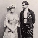 The glamorous 1905 Hyde Ball was turned into a scandal to prove that James was too frivolous to control the Equitable Life Assurance Society. Here he is shown at the ball with the Countess de Rougement.