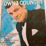 Peter Duchin made the Town & Country cover in his mid-twenties, after he began his career at the chic St. Regis Maisonette nightclub; and led the band from the piano at Truman Capote's still-famous Black and White Ball