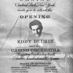 The invitation to the 1931 opening of the exclusive Central Park Casino, where Peter's father, Eddy Duchin became famous at the age of twenty-two